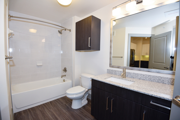 bathroom at Encore Montrose Apartments