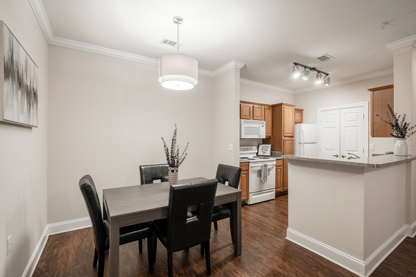 dining room at Citiscape at Essen Apartments