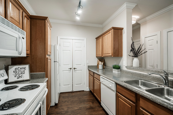 kitchen at Citiscape at Essen Apartments