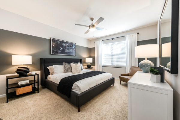 bedroom at Ashton at Dulles Corner Apartments