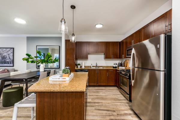 kitchen at Ashton at Dulles Corner Apartments