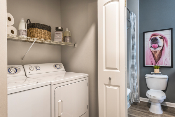 laundry room at Ashton at Dulles Corner Apartments