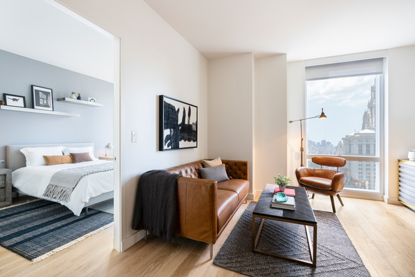 bedroom at 19 Dutch Apartments