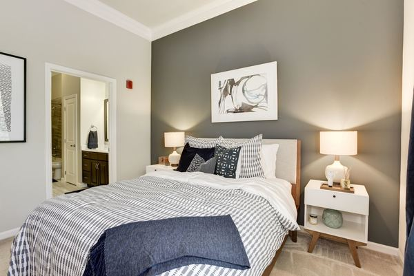 bedroom at Novus Odenton Apartments
