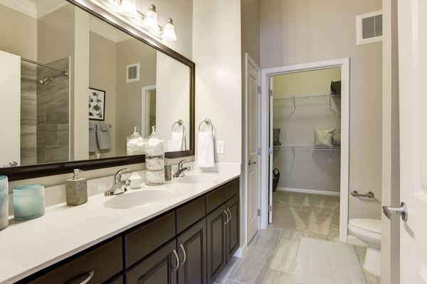 bathroom at Novus Odenton Apartments