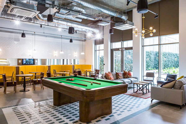 game room at Chapter White City