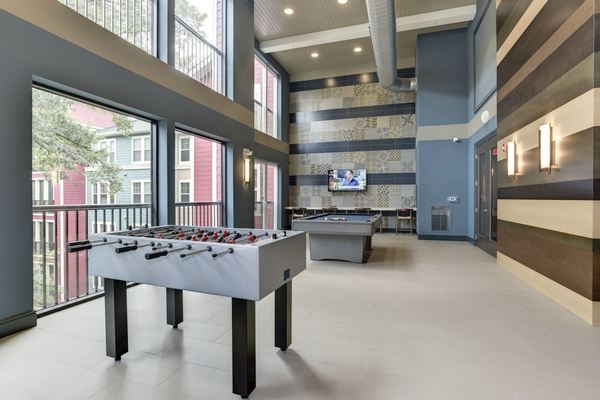 game room at Novus Odenton Apartments