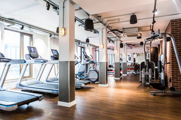 fitness center at Chapter White City