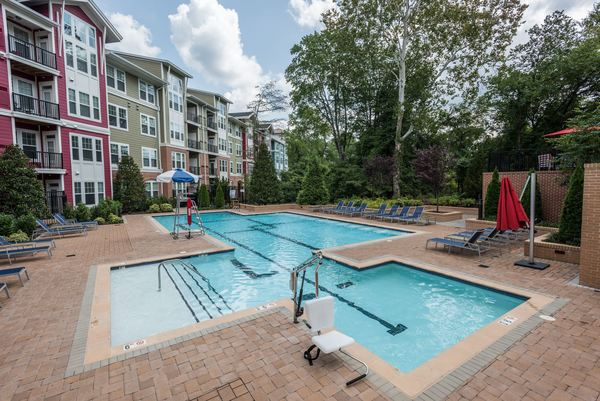 pool at Novus Odenton Apartments