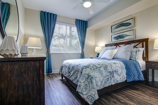 bedroom at Bridges at Kendall Place Apartments
