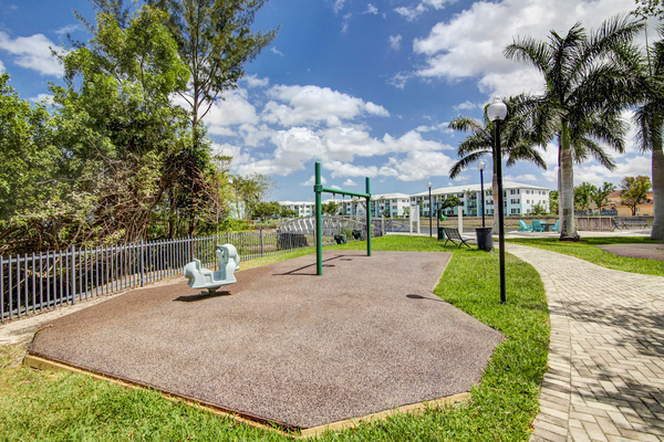 playground at Bridges at Kendall Place Apartments