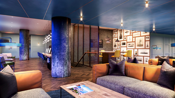 clubhouse at Sailmakers (Ostro Tower)