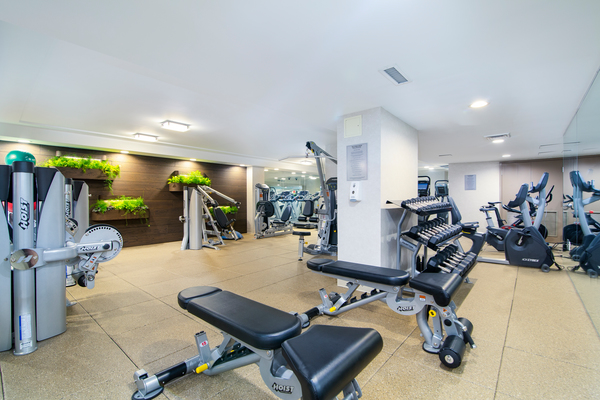 fitness center at Two Lincoln Square