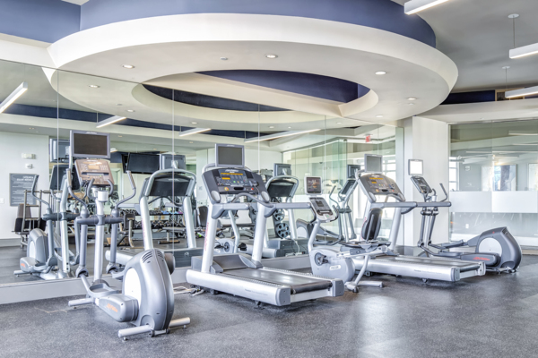 fitness center at The Residence at SouthPark
