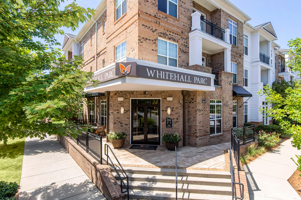 exterior at Whitehall Parc Apartment Homes