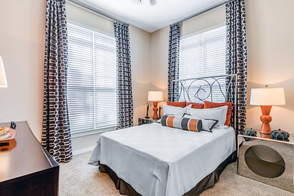 bedroom at Whitehall Parc Apartment Homes