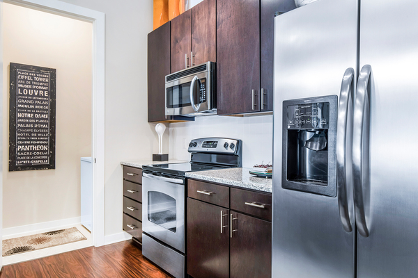 kitchen at Whitehall Parc Apartment Homes