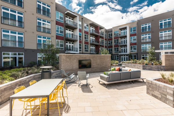 patio/balcony at Solis North Gulch Apartments
