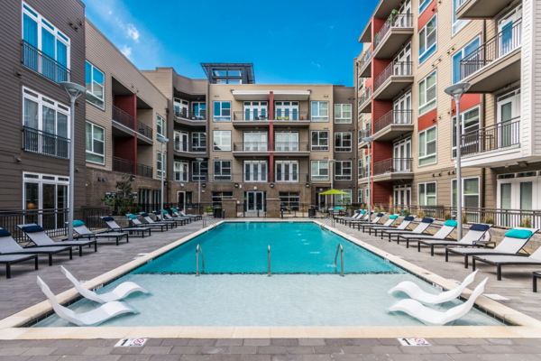 pool at Solis North Gulch Apartments