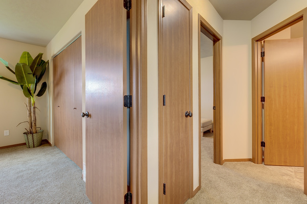hallway at Brookline Townhomes