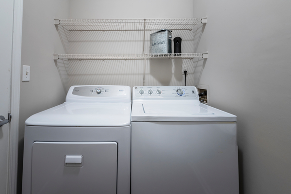 laundry room at Wakefield Glen Apartments