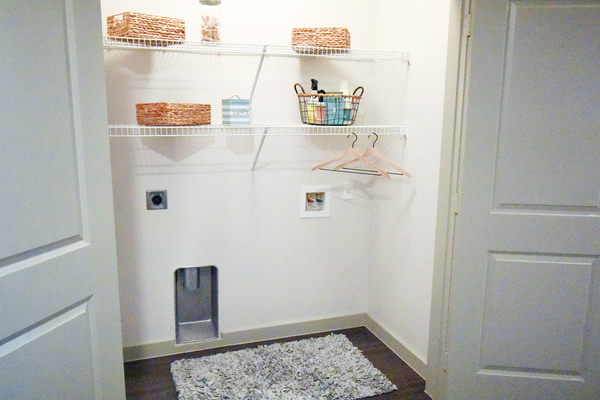 laundry room at Terra Apartments