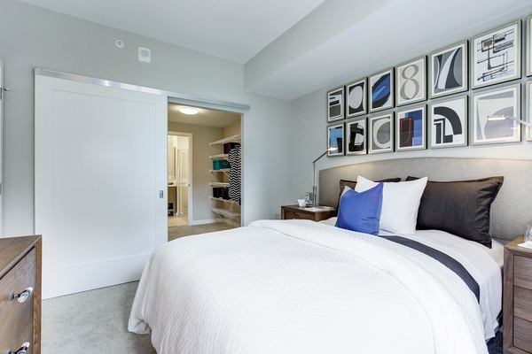 bedroom at Valo Apartments