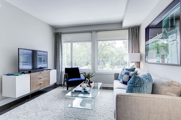 living room at Valo Apartments