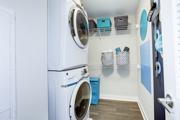 laundry room at Valo Apartments