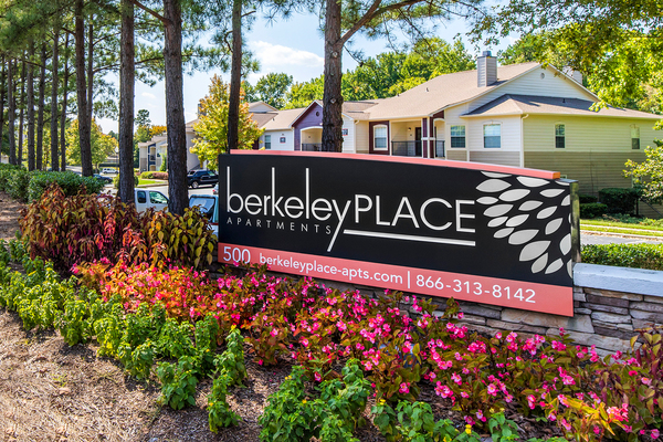 signage at Berkeley Place Apartments