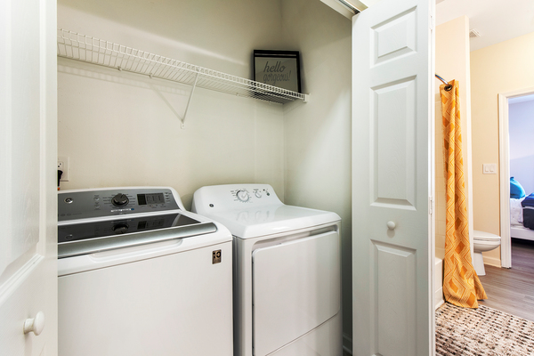 laundry room at Berkeley Place Apartments