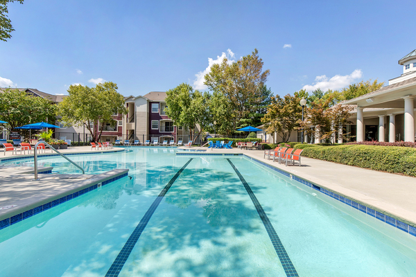 pool at Berkeley Place Apartments
