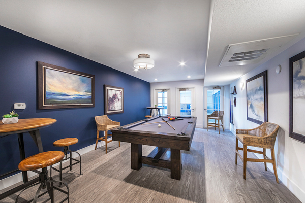 game room at Overture San Marcos Apartment Homes