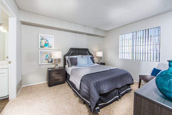 bedroom at Overture San Marcos Apartment Homes