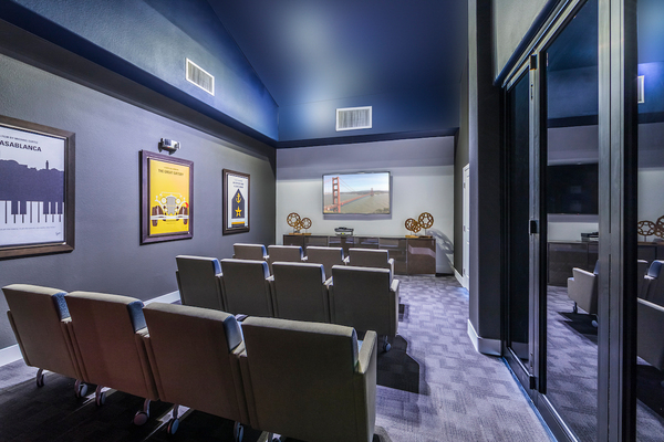 theater at Overture San Marcos Apartment Homes