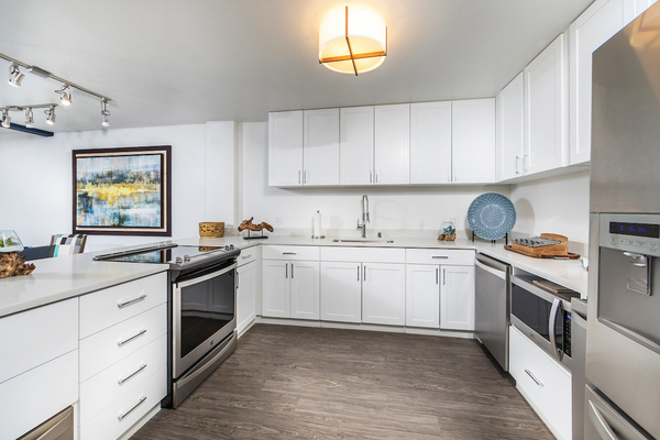kitchen at Overture San Marcos Apartment Homes