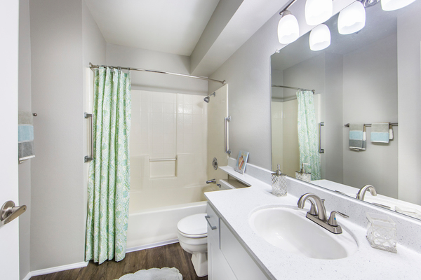 bathroom at Overture San Marcos Apartment Homes