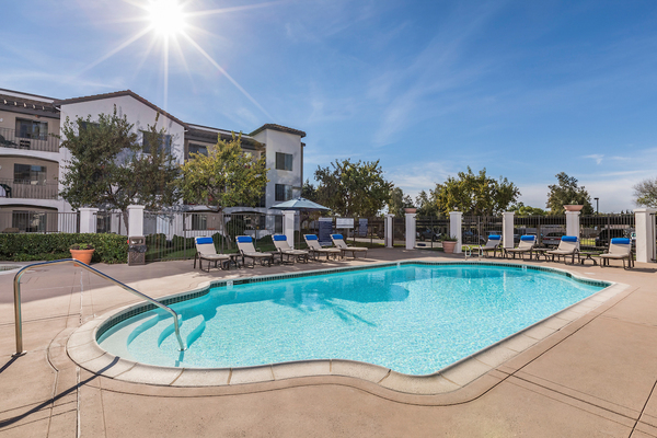 pool at Overture San Marcos Apartment Homes