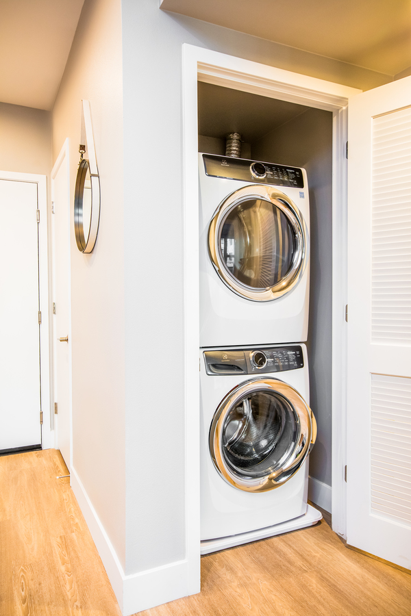 laundry room at Fourth Street East Apartments