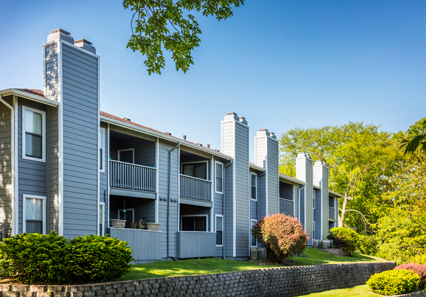 exterior at TimberLane Village Apartments