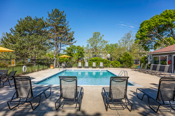 pool at TimberLane Village Apartments