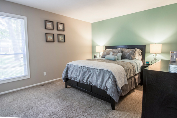bedroom at Summit at Keystone Apartments