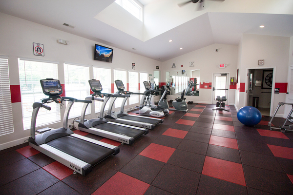 fitness center at Summit at Keystone Apartments