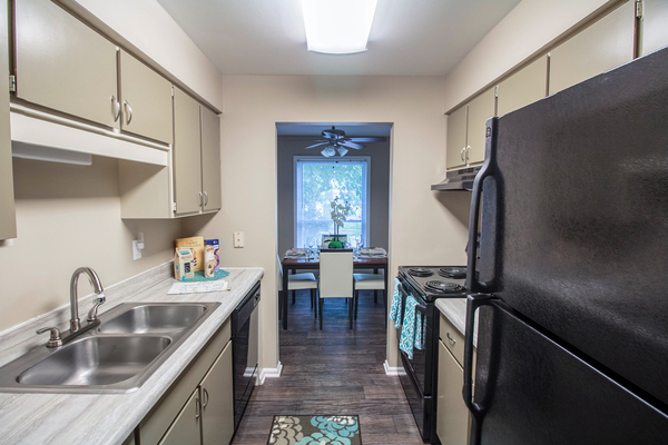 kitchen at Summit at Keystone Apartments