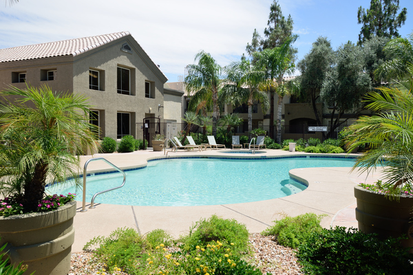 pool at Lumiere Chandler Condominiums