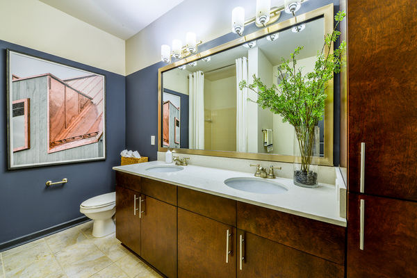 bathroom at Avana Westside Apartments