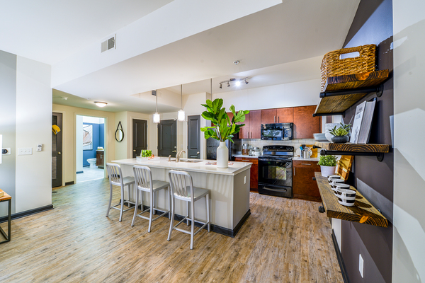 dining room at Avana Westside Apartments