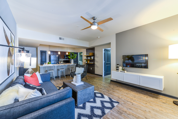 living room at Avana Westside Apartments
