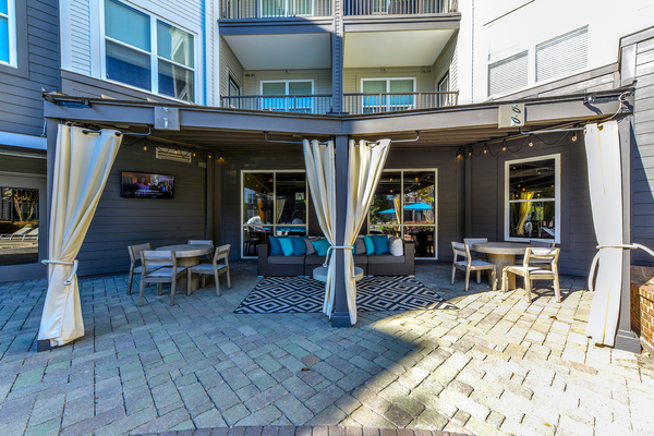 patio/balcony at Avana Westside Apartments