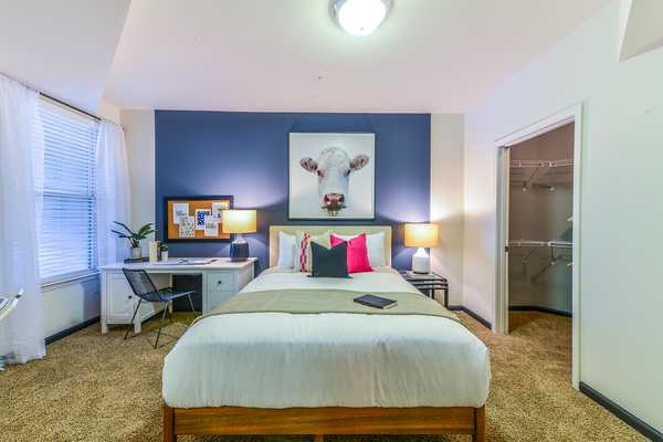 bedroom at Avana Westside Apartments